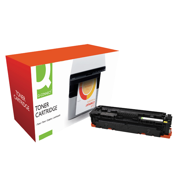 Q-Connect Compatible Solution HP Jet Intelligence CF412A Yellow Toner Cartridge M452AYVAS