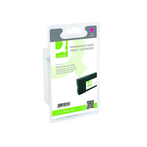Q-Connect HP 953XL F6U17AE Ink Cartridge Magenta HY F6U17AE-COMP