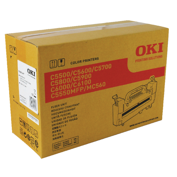 Oki C5600 Fuser Unit (60,000 pages yield) 43363203