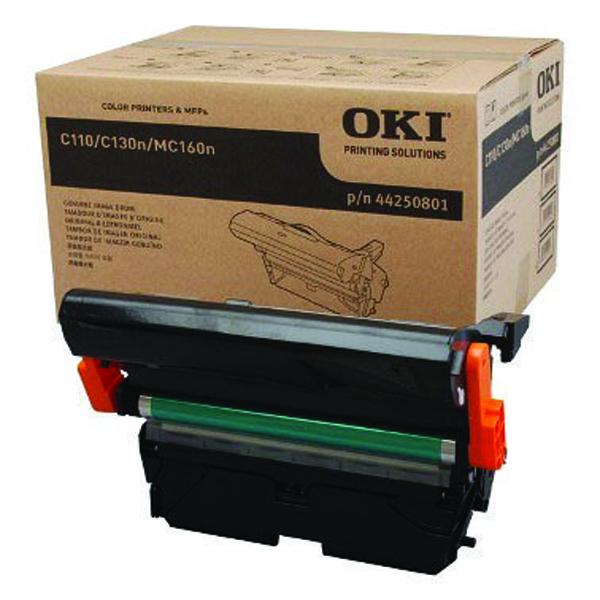 Oki C110/C130 Black Imaging Unit 45K /11.25K Colour 44250801