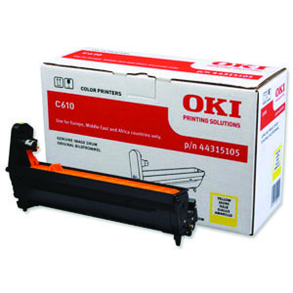 Oki C610 Yellow Image Drum 20K 44315105