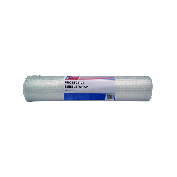 GoSecure Bubble Wrap Roll Medium 500mmx3m Clear (Pack of 10) PB02287