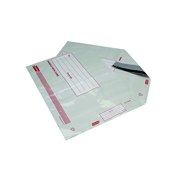 Go Secure Extra Strong Polythene Envelopes 460x430mm (Pack of 25) PB08224