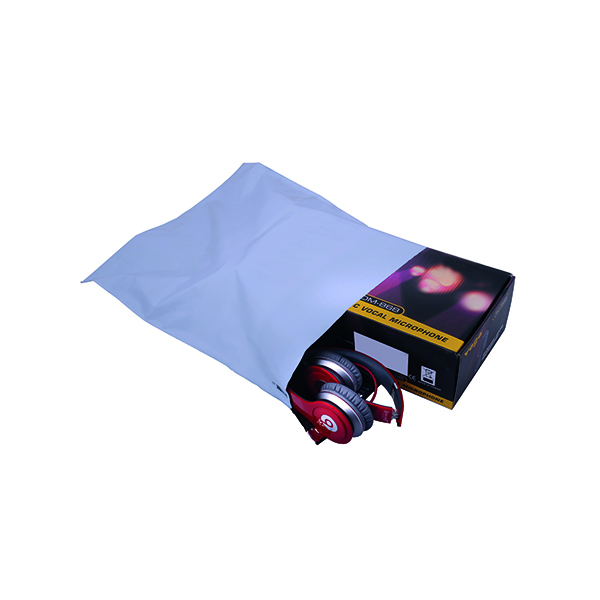 GoSecure Envelope Lightweight Polythene 335x430mm Opaque (Pack of 100) PB11132