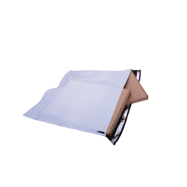 GoSecure Envelope Extra Strong Polythene 460x430mm Opaque (Pack of 100) PB28282