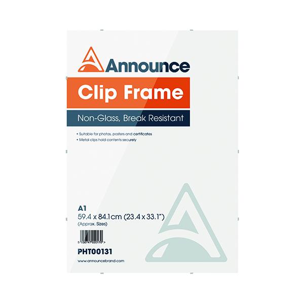 Announce Metal Clip Frame A1 PHT00131