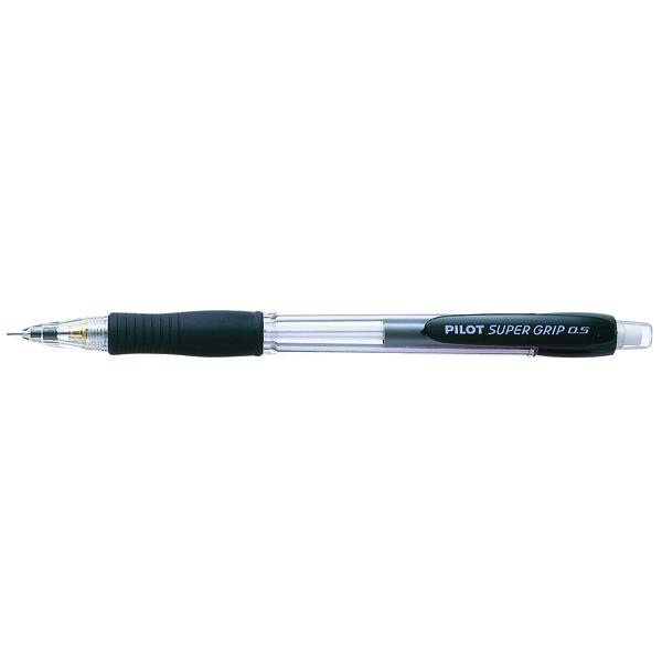 Pilot Super Grip Mechanical Pencil HB Black (Pack of 12) 506101201