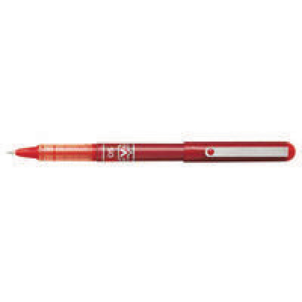 Pilot V-Ball Rollerball Pen Needle Fine Red (Pack of 12) BLVB5-02