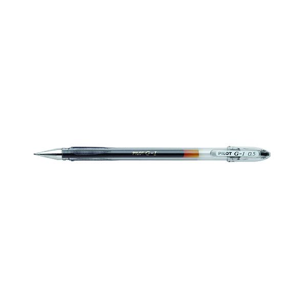 Pilot G1 Gel Ink Rollerball Pen Fine Black (Pack of 12) G10501