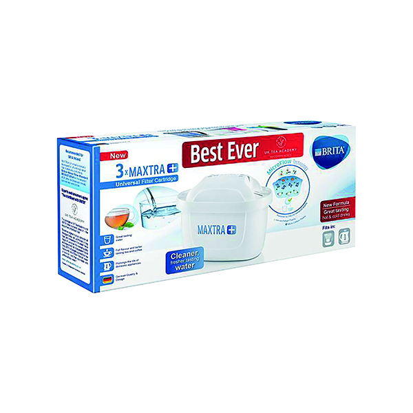 Brita Maxtra Water Filter Cartridge (Pack of 3) BA5349