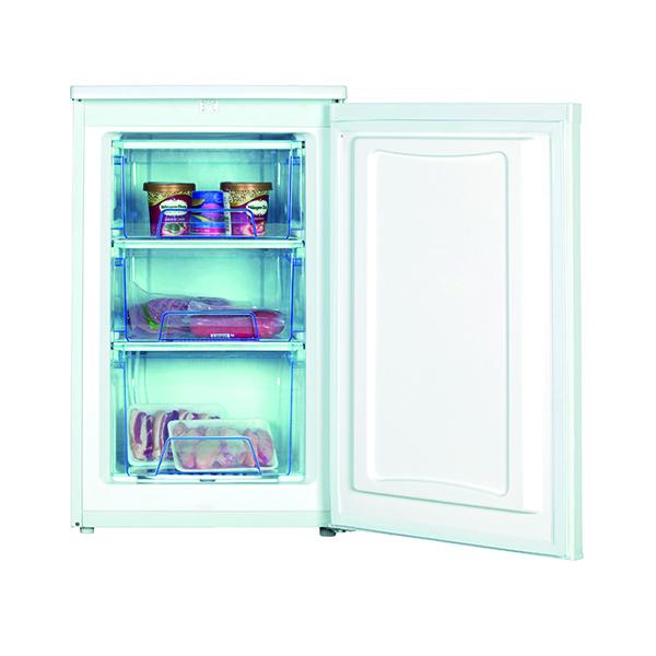 Statesman Under Counter Freezer White 50cm (3 drawers, adjustable thermostat, 70 lt capacity) IG350F