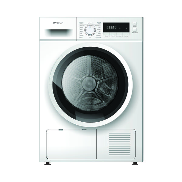 Condenser Tumble Dryer White (W595 x D565 x H855mm) ZXC683W