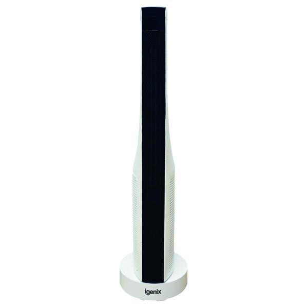 2kW PTC Ceramic Tower Fan Heater White IG9032