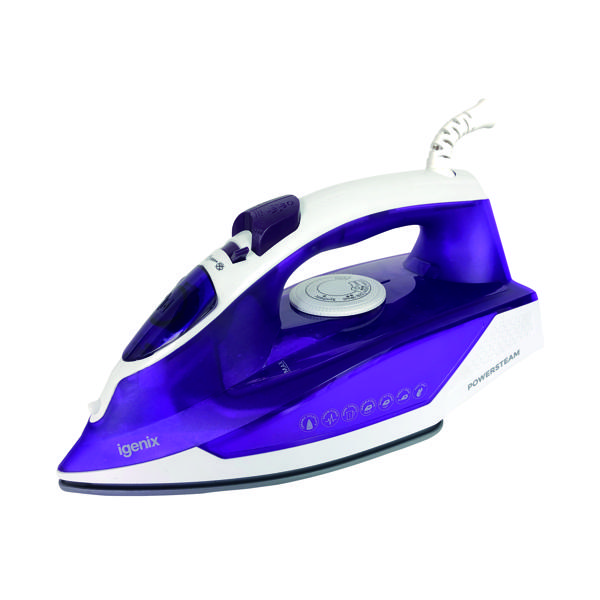 Igenix 2000 Watt Electric Corded Steam Iron IG3121