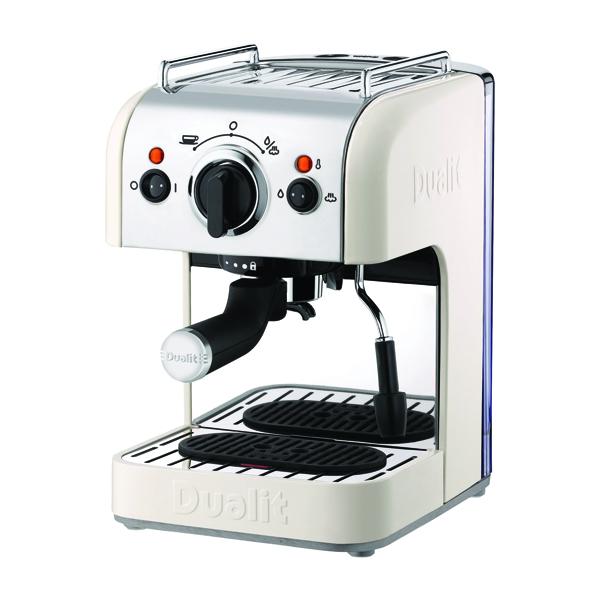 Dualit 3in1 Coffee Machine 15 Bar Pressure ( Options of capsules, pods or ground coffee) DA4443