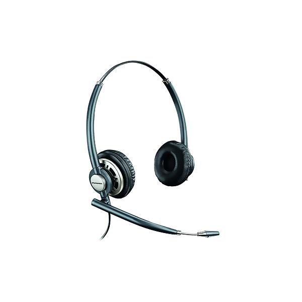 Plantronics Black EncorePro HW720 Customer Service Headset Binaural 78714-02