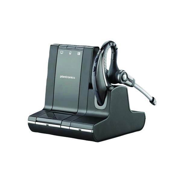 Plantronics Savi W730 Black Wireless Headset 83543-02