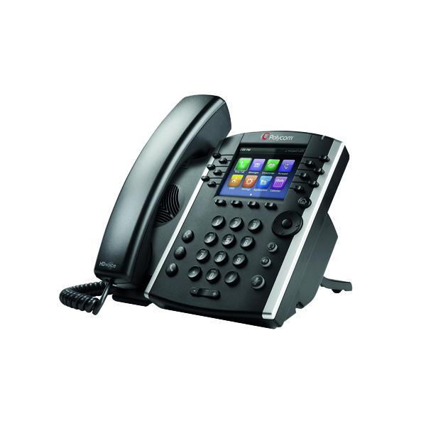 Polycom VVX 401 IP Phone 12 Line TFT Black 2200-48400-025