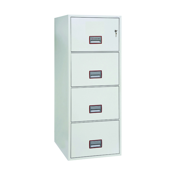 Phoenix 4 Drawer 90 Minute Fire Rated Filing Cabinet FS2254K
