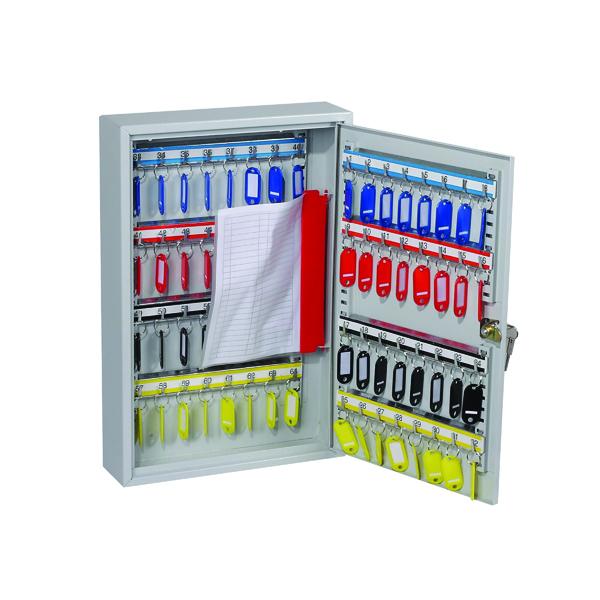Lockable 64 Hook Key Cabinet KC0602K