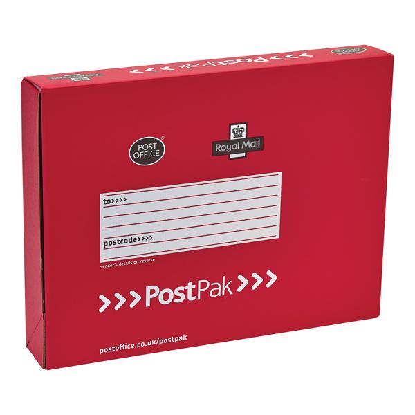 Postpak Red Full-Shirt Small Mailbox (Pack of 20) P20