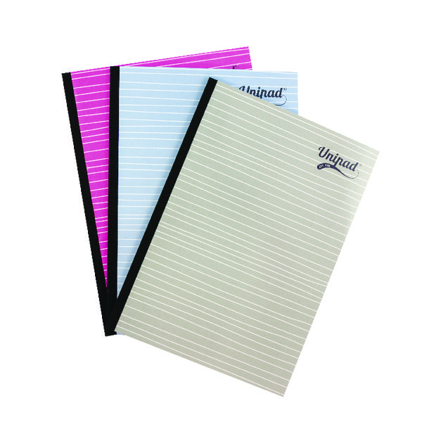 Pukka Pad Unipad Refill Pad Sidebound A4 400 Pages (Pack of 9) URP200