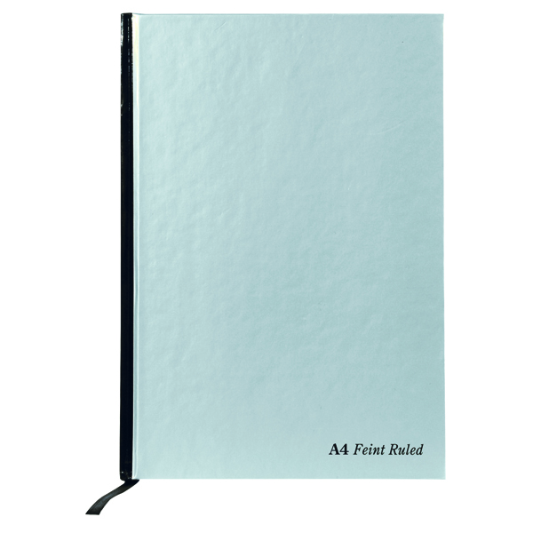 Pukka Pad Silver Ruled Casebound Notebook 192 Pages A4 (Pack of 5) RULA4