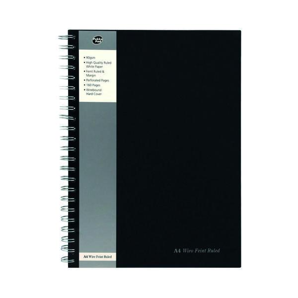 Pukka Pad Feint Ruled Wirebound Notebook A4 (Pack of 5) SBWRULA4