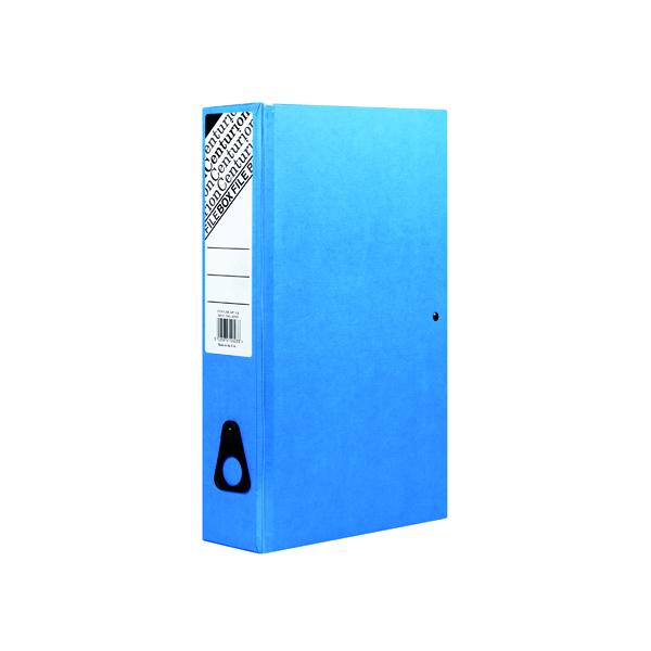 Centurion Box File Blue (Pack of 10) C1278