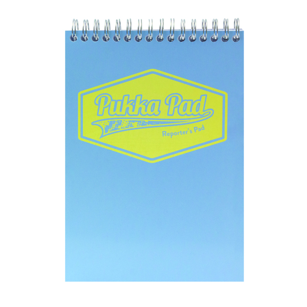 Pukka Pad Pastel Reporters Pad 140x205 (Pack of 3) 8907-PST