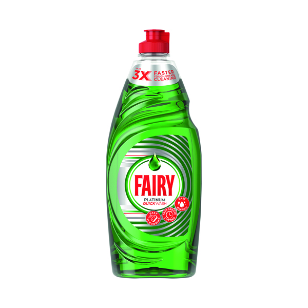 Fairy Platinum Washing Up Liquid 615ml 4084500900509