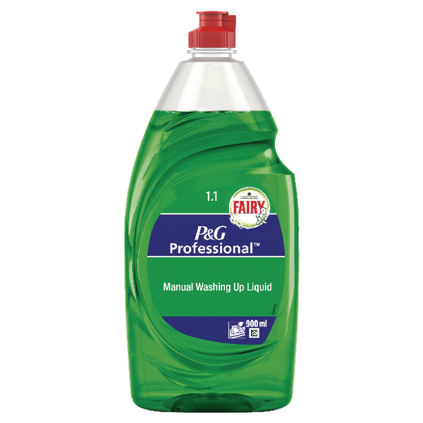6 x Fairy Washing Up Liquid 900ml (Cuts through grease and dirt with ease) 0425099