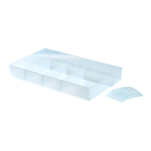 StoreStack Small Tray Clear (Fits 5.5 Litre Box and 10 Litre Box) RB77235