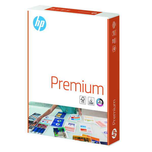 2500 x HP Premium A4 80gsm White (Quality 80gsm, engineered to reduce jams) HPT0317