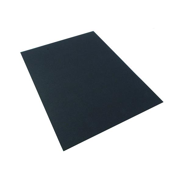 Office A4 Card 210gsm Black (Pack of 20) KHR121011