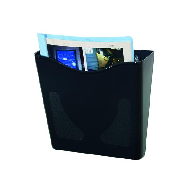 Deflecto Graphite Portrait Literature Holder A4 CP078YTGRA