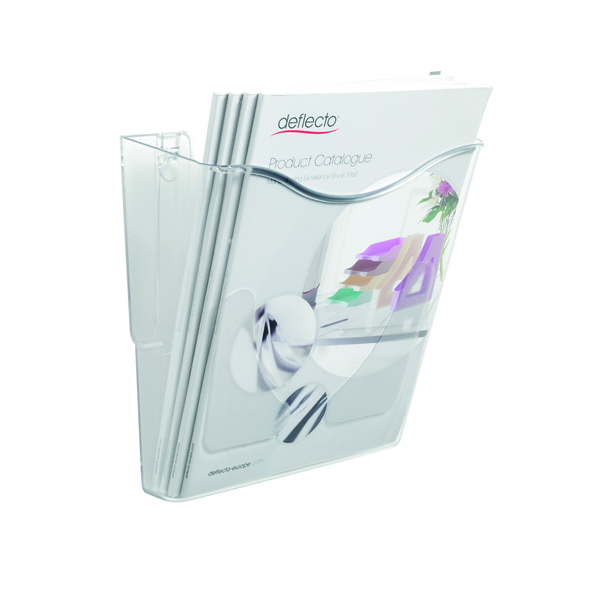Deflecto Crystal Portrait Literature Holder A4 CP078YTCRY