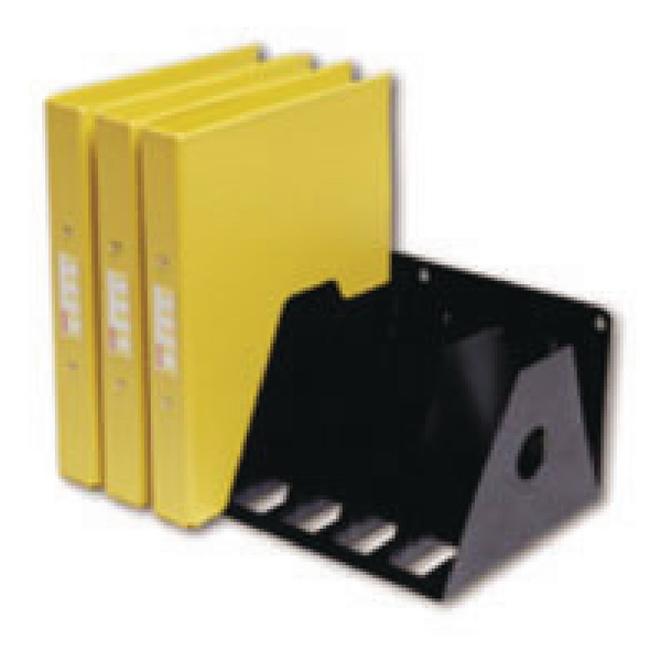 Rotadex 7-Section Ring Binder Filing Unit A4 Black A4R/7