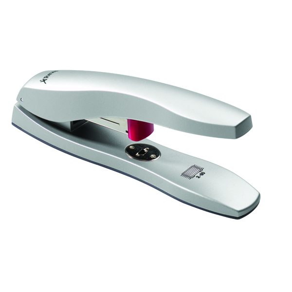 Rexel Odyssey Heavy Duty Stapler Silver (Staples up to 60 sheets of 80gsm paper) 2100048