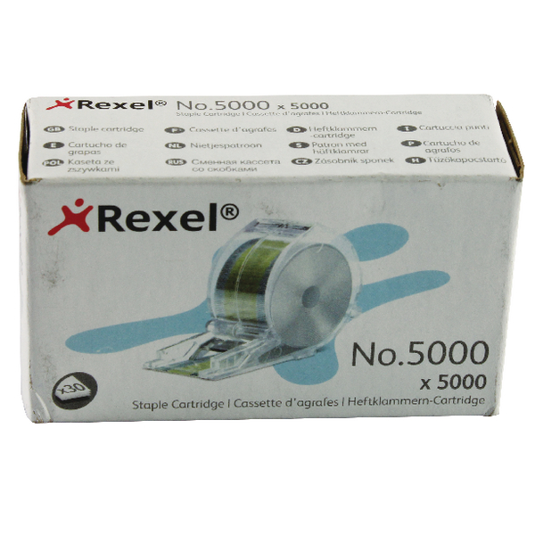 Rexel 5000 Staple Cartridge (Pack of 5000) 06308