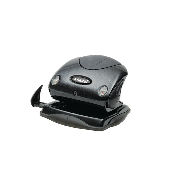 Rexel Precision P215 Hole Punch Black 2100740