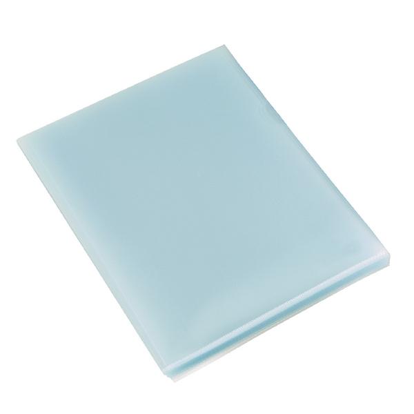 Rexel Budget Cut Flush Folder A4 Clear (Pack of 100) 12182