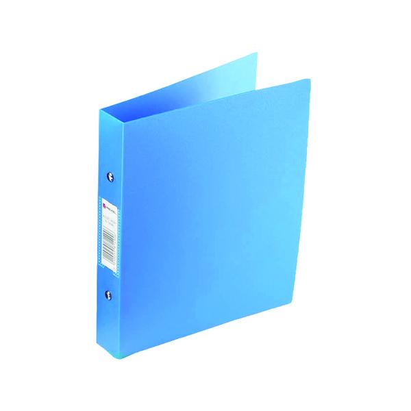 Rexel Budget 2 Ring Binder A4 Blue (Pack of 10) 13422BU