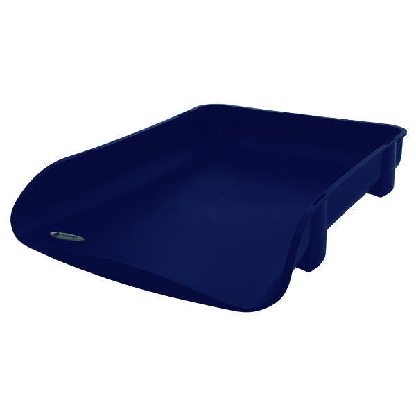Rexel Agenda2 In-Out Letter Tray Blue 2101017