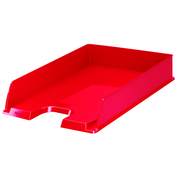 Rexel Choices Letter Tray A4 Red 2115599