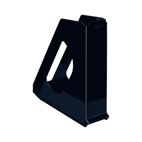 Rexel Choices Magazine File Black 2115605