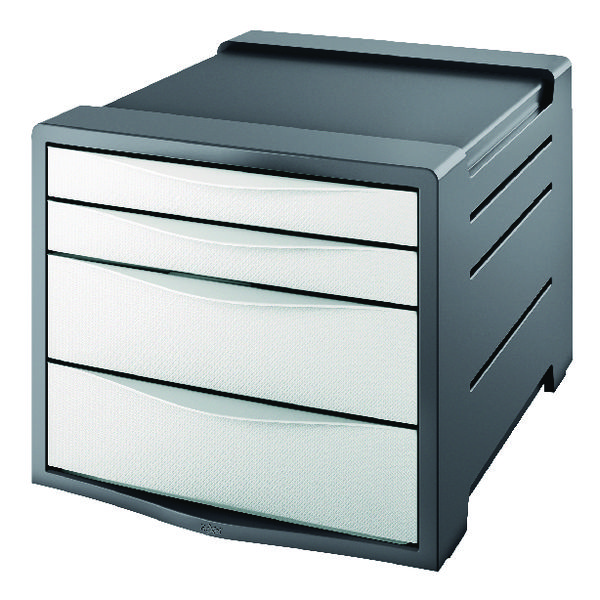 Rexel Choices Drawer Cabinet White 2115608