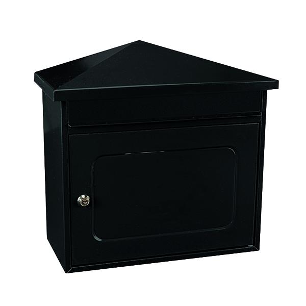 Worthersee Mail Box Black (W390 x D205 x H350mm) 371787