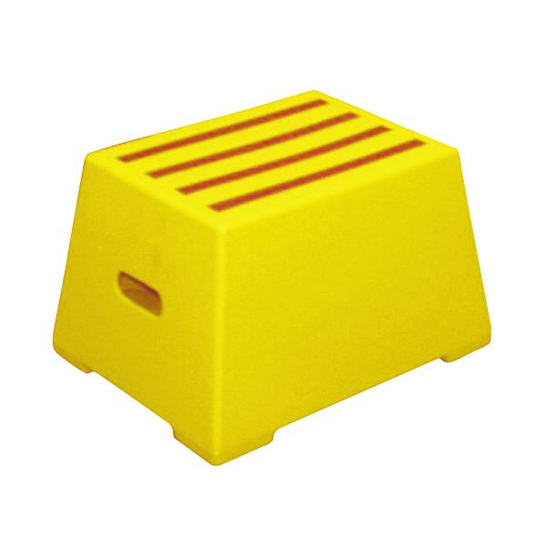 Plastic Safety Step 1 Tread Yellow 325094