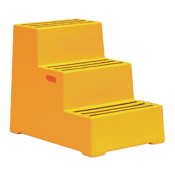 Plastic Safety Step 3 Step Yellow 325100